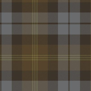 Ancient Gordon tartan, weathered colors