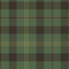 Paton family tartan, traditional colors