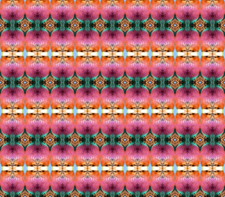 Colorful birds fabric by izkell on Spoonflower - custom fabric