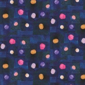 Watercolors Polka Dots