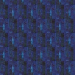Watercolors Dark Blue Fish Scales
