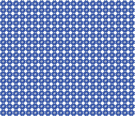 Star Trellis fabric by lulabelle on Spoonflower - custom fabric