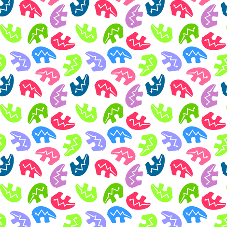 Many Bears! fabric by moirarae on Spoonflower - custom fabric