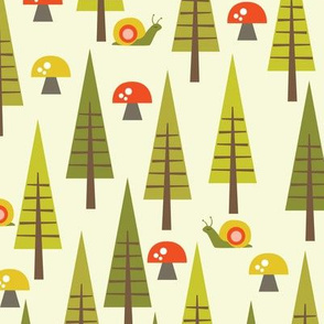 trees and toadstools