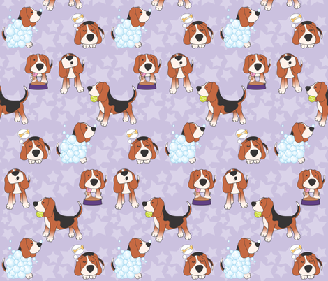 America's top dog fabric by mrs_buns on Spoonflower - custom fabric