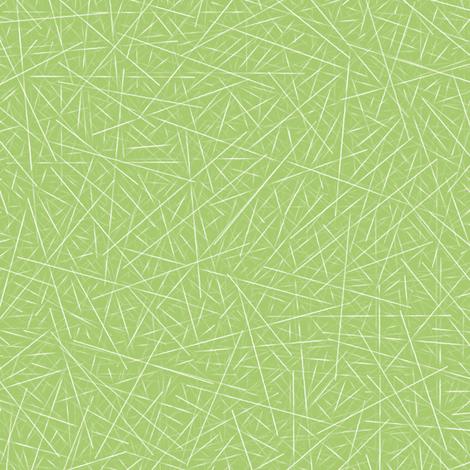 sharps on green fabric by weavingmajor on Spoonflower - custom fabric