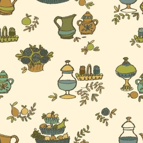 Grandma's kitchen wallpaper