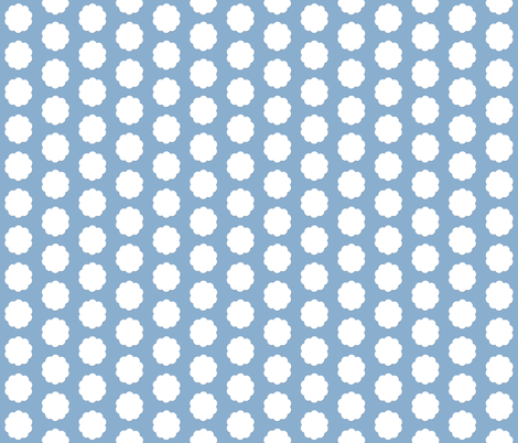 Cotton Tail Polka Dots fabric by karenharveycox on Spoonflower - custom fabric
