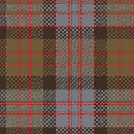 MacDonald tartan, weathered fabric by weavingmajor on Spoonflower - custom fabric
