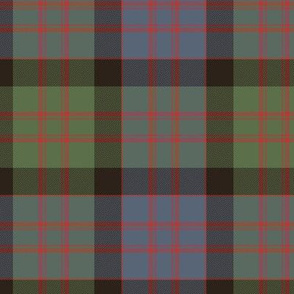 "MacDonald tartan, 6"" weathered ancient"