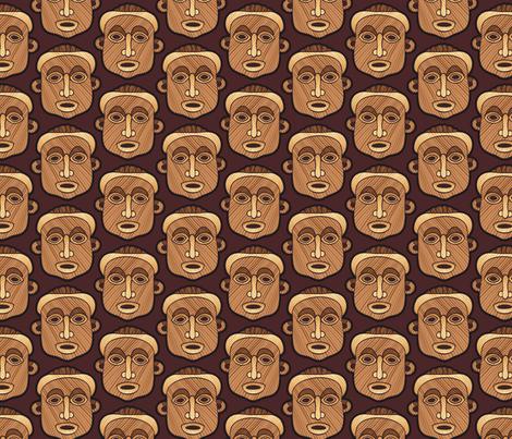 Masks fabric by hannafate on Spoonflower - custom fabric