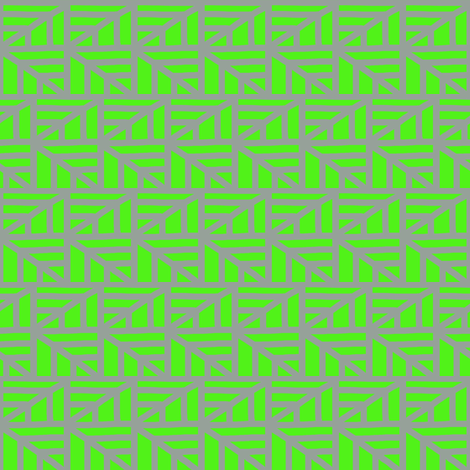 Zigzag Arrows Green Grey fabric by eve_catt_art on Spoonflower - custom fabric