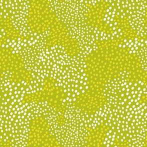 In Disguise - Geometric Dot Green - Spring Fling