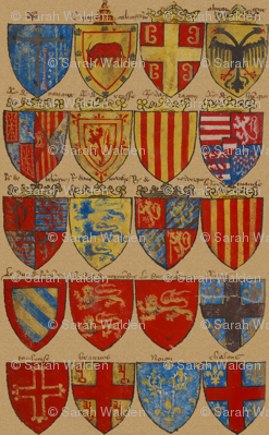 Knights of The Round Table ~ Original Palette