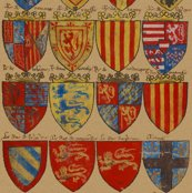 Knights_of_the_round_table___heraldry_shields___peacoquette_designs___copyright_2015_shop_thumb