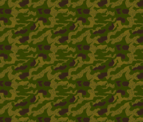 1/4 Scale Sumpfmuster 43 Camo fabric by ricraynor on Spoonflower - custom fabric