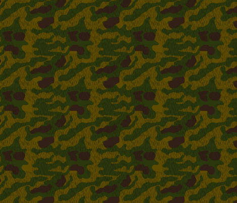 1/4 Scale Sumpfmuster 44 Camo fabric by ricraynor on Spoonflower - custom fabric