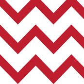 christmas chevron red LG
