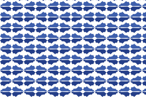 Kentucky Reflection fabric by rousehousedesign on Spoonflower - custom fabric