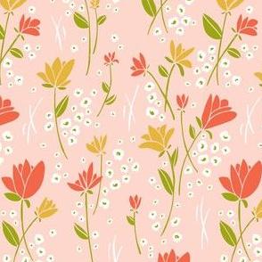 Skylark - Floral Pink