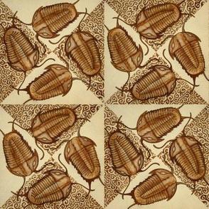 Trilobite Quilt (Ivory Mini)