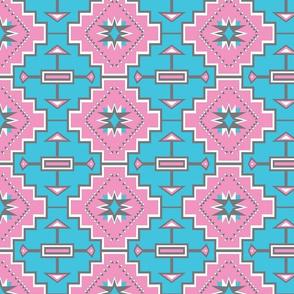 pastel geometric stars