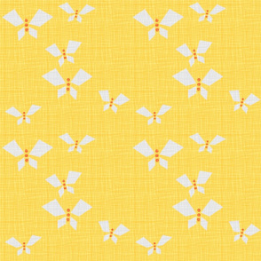 ButterfliesGreyYellow