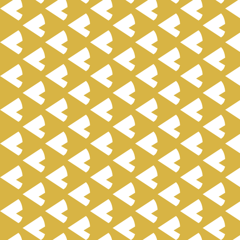 Golden Teepee 90 deg fabric by mrshervi on Spoonflower - custom fabric