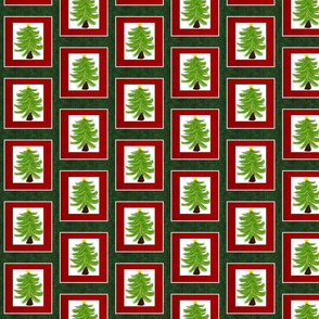 Christmas Tree Quilted