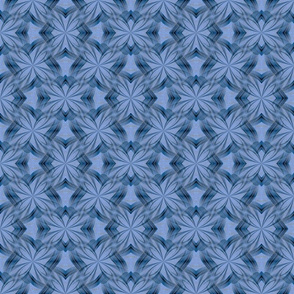 Vintage Blue Mosaic