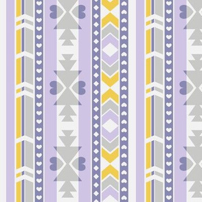 Southwest (Lilac, gray, yellow)