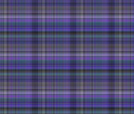 Purple Plaid 1 fabric by gingezel on Spoonflower - custom fabric