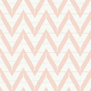 Teepee 3: medium, coral and white