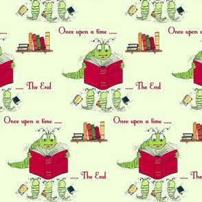 Bookworm Bedtime Stories - Yellow
