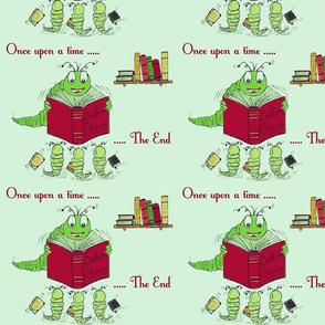 Bookworm Bedtime Stories - Green