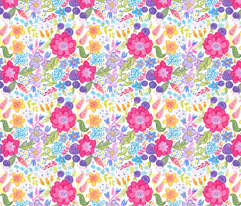 dilly dalian kristy fabric by dillydalian on Spoonflower - custom fabric
