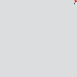 Floral design for tea towel