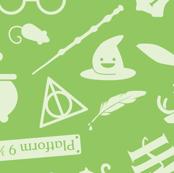 Pastel Potter - Green