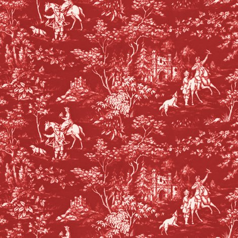 Rthe_grand_hunt___toile___turkey_red_and_white___peacoquette_designs___copyright_2015_shop_preview