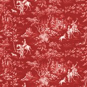 Rthe_grand_hunt___toile___turkey_red_and_white___peacoquette_designs___copyright_2015_shop_thumb