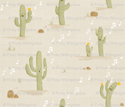 Desert Lullaby - Crooning Cacti