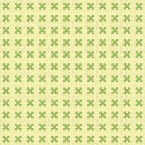 x-dots in green tea