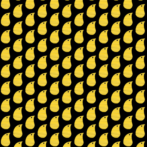 Baby Yellow Chicks fabric by eve_catt_art on Spoonflower - custom fabric