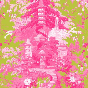 Chinoiserie Palace ~ Usurper and Courtesan