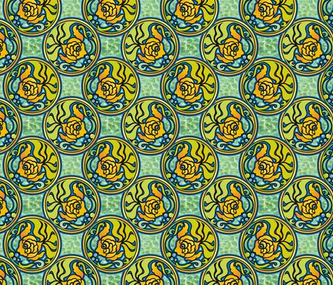 fishy fabric by hannafate on Spoonflower - custom fabric