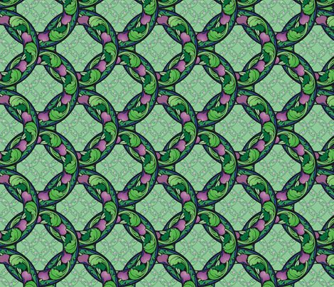 Arts and Crafts beets fabric by hannafate on Spoonflower - custom fabric