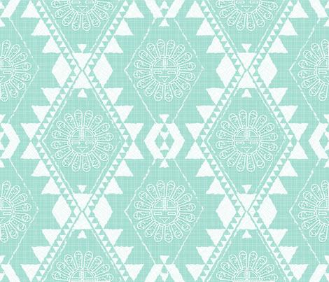 Southwest_baby fabric by mia_valdez on Spoonflower - custom fabric