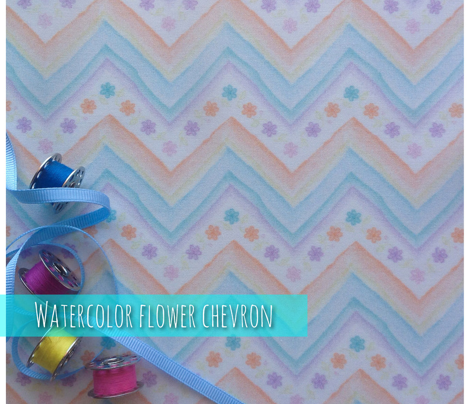 Watercolor_flowers_chevron_comment_591242_preview