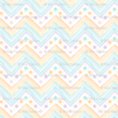 Watercolor_Flowers_Chevron