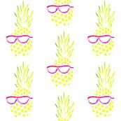 Pineapple In Sunglasses